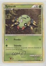 2010 Pokémon HeartGold & SoulSilver Base Set Spanish #83 Spinarak Card 2f4