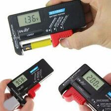 LCD Tester Batteria Aa / AAA 9V/1.5V Pila a Bottone C D Volt Strumento Ricambio