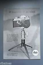 R&L Ex-Mag Advert: Leicaflex Camera, Leitz Tripod / Yashica Camera and Lens