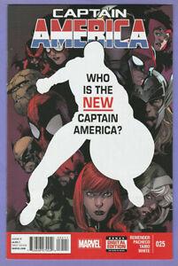 Captain America 25 A 1st appearance Sam Wilson as Cap Falcon Avengers movie v