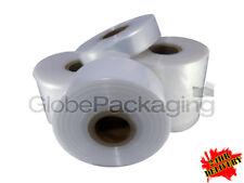 Quality Polythene Plastic Layflat Tubing Rolls All Sizesqtys 250 Amp 500 Gauge
