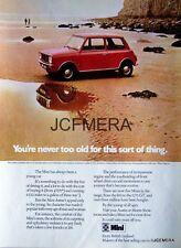 1973 British Leyland 'MINI 1000' Motor Car Ad #2 - Original Auto Advert Print AF