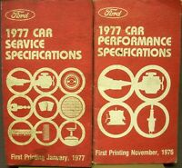 1977 Ford Mustang  II  NOS Frame Dimensions Front End Wheel Alignment Specs