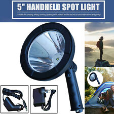 LED Handheld Camping Spotlight Rechargeable Torch Hunting Fishing Spot Light AU