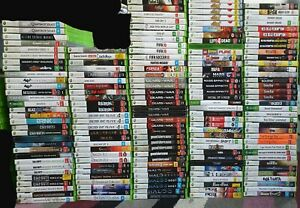 Microsoft Xbox 360 Games List *Select from Drop Down Box* Free Postage