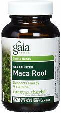 Maca Root, Gaia Herbs, 60 capsule