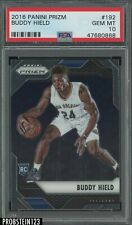 2016-17 Panini Prizm #192 Buddy Hield New Orleans Pelicans RC Rookie PSA 10