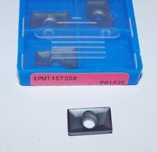 (10) XPMT 15T308 PR1535 KYOCERA MILLING INSERTS (8860947)