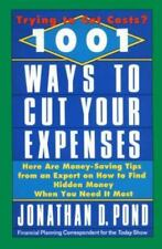 1001 Ways to Cut Your Expenses Jonathan D Pond hardcover non smoking home great