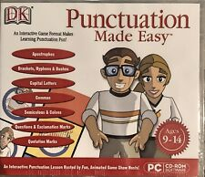 DK Punctuation Made Easy Pc Brand New Win7 Vista, XP
