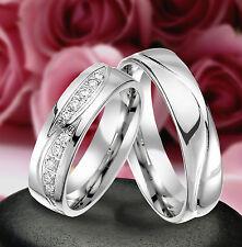 2 Echt Silber 925 Trauringe Eheringe Verlobungsringe , Gravur Gratis , J320