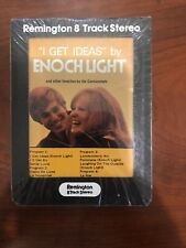 Remington 8-Track Stereo - Enoch Light I Get Ideas - New Unopened, Sealed