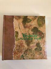 New YOSEMITE National Park PHOTO ALBUM 4 X 6 Brown Green Leaves NWT California
