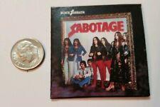 Miniature record album Barbie Gi Joe 1/6  Playscale Black Sabbath Sabotage Ozzy