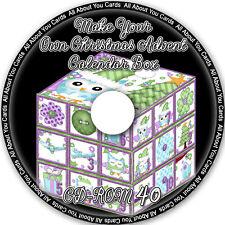 Prepara il tuo Natale Avvento Calendario scatole CD-ROM 40