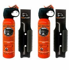 UDAP 12VHP Pepper Power Bear Spray (2 PACK) Repellent w/NEW Griz Guard Holster!