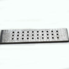 30 Tungsten Carbide Wire Drawplate Jewelry Making 30 Square Holes 0.5-3.00mm