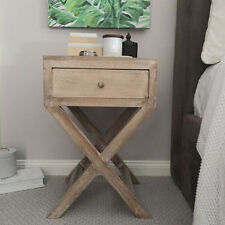 Timber Bedside Tables with 1 Drawer