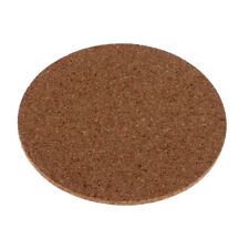 10x Cork Coaster Adhesive Glass Furniture Protector Drink Cup Mat Tablemats