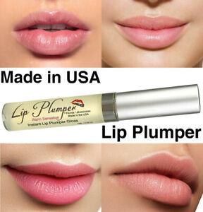 Instant Lip Plumper Warm Lip Pump Enhancer Fuller Thicker Moist Lips