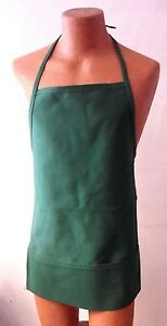 Augusta Sportswear Single Green Apron Waist Tied w/ Pouch Pocket Style 2060 NEW!