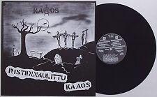 Kaaos - Ristiinnaulittu LP Terveet Kadet Bastards Riistetyt Kohu-63 Appendix HC