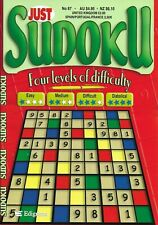 2 SUDOKU BUMPER BOOKS 100+ PUZZLES IN EACH 4 LEVELS OF DIFFICULTY FREE P/P