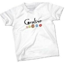 Goodie du film CORALINE - tee-shirt taille S ou taille M (neuf)