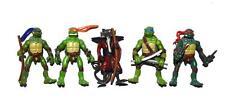 """TMNT Playmates Teenage Mutant Ninja Turtles Splinter Mini 2"""" Action Figure Set A"""