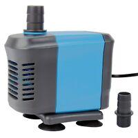 600 GPH Submersible Water Pond Pump Aquarium Tank Powerhead Fountain Hydroponic