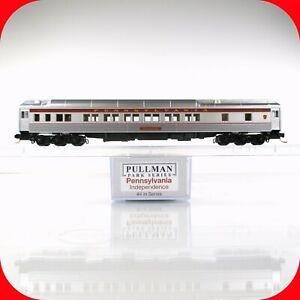 """N Scale LOWELL SMITH PRR Pennsylvania """"Independence"""" Pullman Car #4 Micro Trains"""