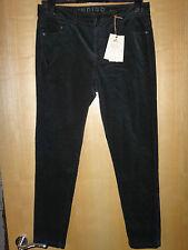 M & S Indigo Skinny cable pantalones verde botella Bnwt Talla 22 de largo