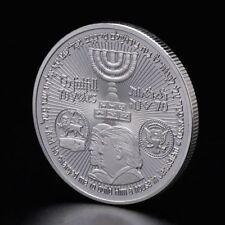 Collection Art Temple America Israel Meeting Commemorative Coin Souvenir Silver