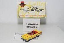 MATCHBOX DINKY DYG02/B-M CHEVROLET BEL AIR 1957 COCA-COLA MINT BOXED