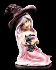 Sorcières Figurine - Rose Avec Chat - Anime Manga Fée Elfe