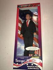Scarce 2003 Toypresidents Inc President George W Bush Talking Action Figure