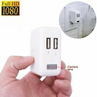 USB Wall Charger 1080P Camera DVR Recorder Adapter NO Wifi US/EU Plug
