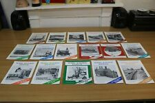 Model Railway Journal 16 Early Issues + Christmas Special Magazines