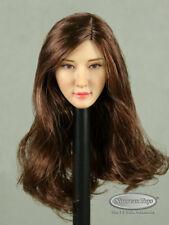 1/6 Phicen, TBLeague, Kumik, FG - Female Asian Brunette Long Hair Head Sculpt