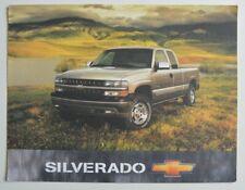 CHEVROLET SILVERADO 1999 dealer sheet brochure - English - USA