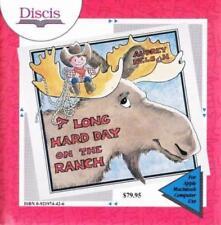 A Long Hard Day on the Ranch MAC CD  Audrey Nelson kids book spend summer away!