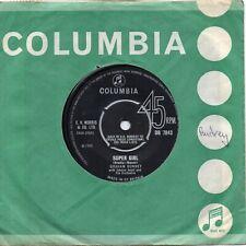 GRAHAM BONNEY  SUPER GIRL  / HILL OF LOVIN'  UK COLUMBIA   NORTHERN SOUL/60s POP