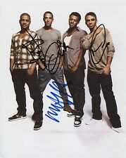 JLS Fully Signed 8 x 10 Photo Genuine In Person JB, Marvin, Aston, & Oritse