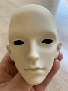 1/3 BJD/ SD Doll Unpainted Head Male/Female Dolls Practice Makeup Dollfie