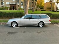 Mercedes E320 CDI Estate Avantgarde 2003 silver
