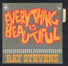 "RAY STEVENS beau SP Anglo ""Every thing is beautiful"" Pochette NEUVE + Languette"