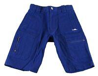 JACADI Boy/'s Bol Navy Blue Cotton Bermuda Shorts SZ 2 Years NWT $44