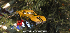Custom '69 Chevy Corvette Stingray 1/64th Christmas Ornament Chevrolet Adorno