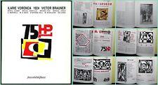 1993 Ilarie Voronca 75 HP Victor Brauner Romanian CONSTRUCTIVISM Paris Reprint
