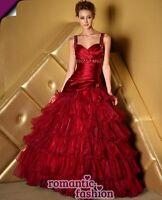 ♥ Gr.34,36,38,40,42,44,46,48,50,52 od 54 Brautkleid Ballkleid Abendkleid +E560 ♥